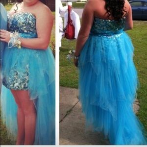 Riva Prom dress only wore once hasn't been altered